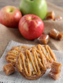 Caramel Apple Snickerdoodles from DessertNowDinnerLater.com