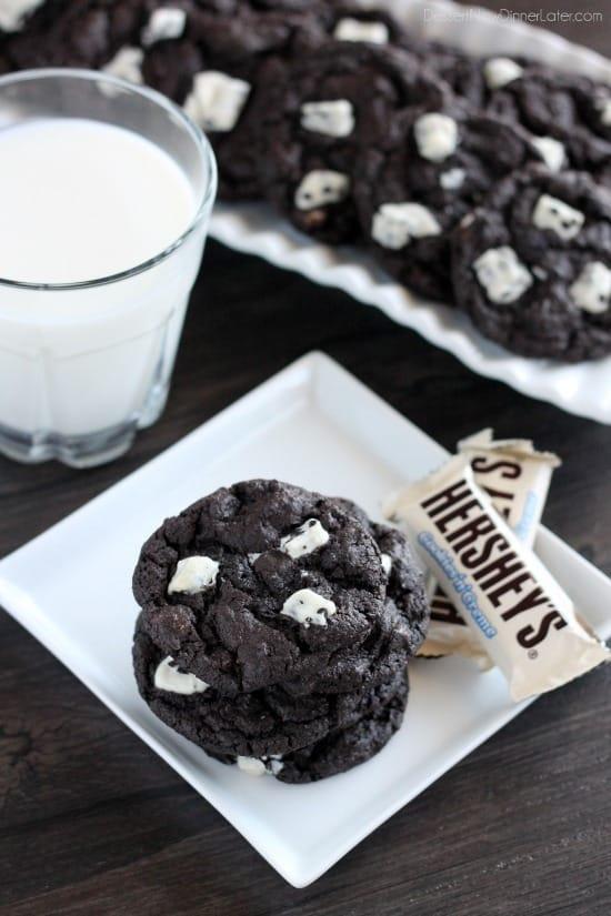 Dark-Chocolate Cookies Recipe — Dishmaps