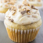 Banana Chocolate Toffee Cupcakes