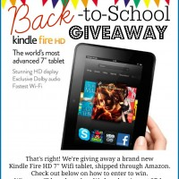Kindle Fire Giveaway!!!