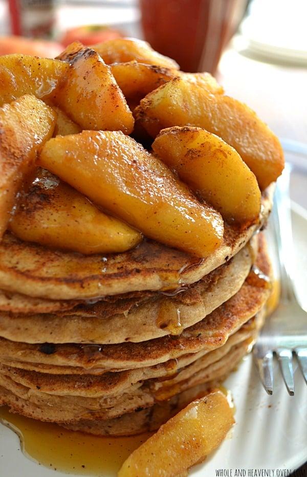 Apple Pie Ricotta Pancakes5