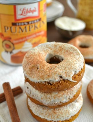 Pumpkin Cheesecake Donuts