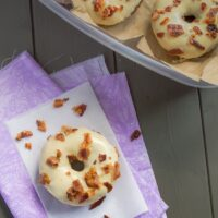 Maple Bacon Chocolate Donuts