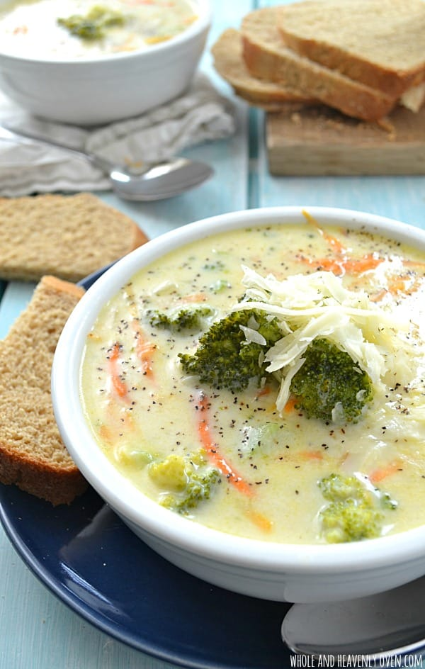So broccoli cheese soup. It's been in my head basically all of the ...
