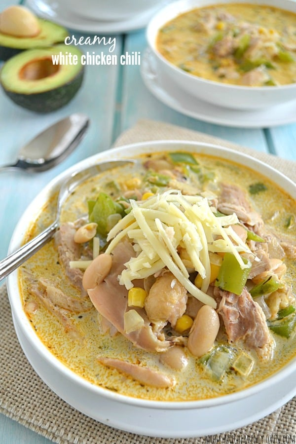 Creamy White Chicken Chili9