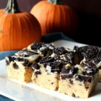 Pumpkin Oreo Fudge