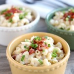 White Cheddar Bacon Mac and Cheese