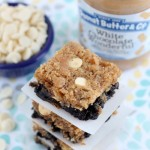 White Chocolate Peanut Butter Brookies