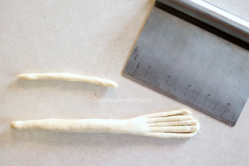 Witch's Broomstick Breadsticks