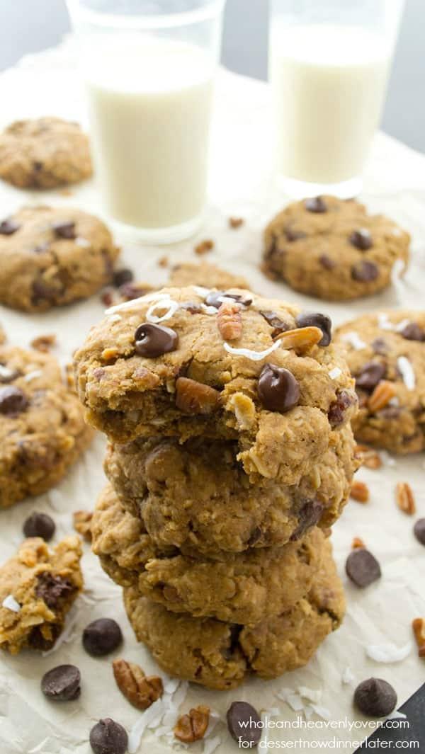 soft baked kitchen sink cookies