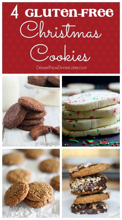 4 Gluten-Free Christmas Cookies