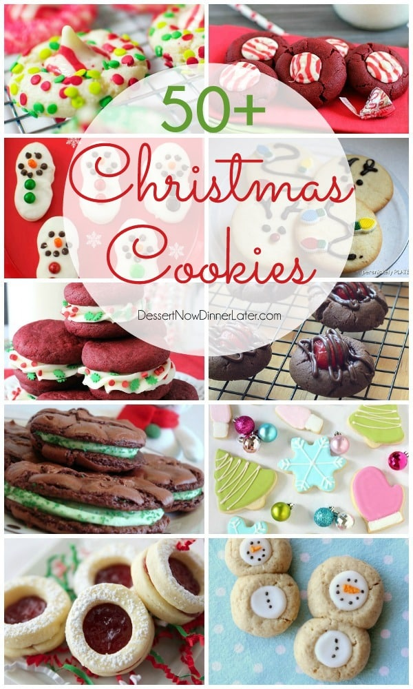 Over 50 Christmas Cookies to choose from to add to your neighbor plates this holiday season. From blossoms, to sugar cookies, something for the chocolate lover, and even gluten free options! There is sure to be something you'll like!