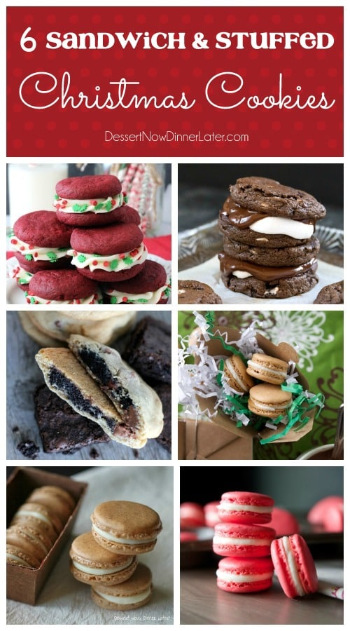 6 Sandwich & Stuffed Christmas Cookies