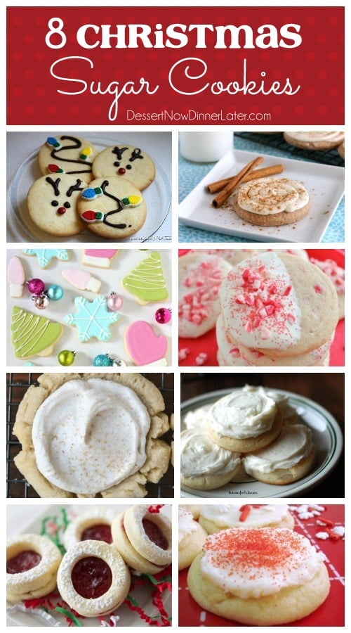 8 Christmas Sugar Cookies