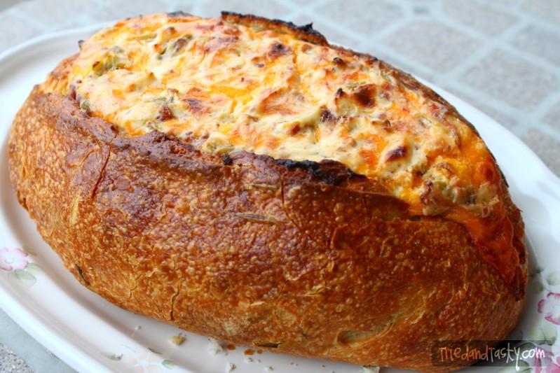 cheesy baked dip