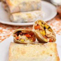Southwest Chicken Rolls