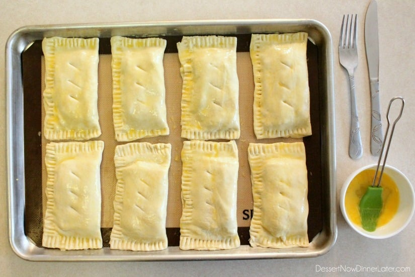 Ham and Cheese Pockets - step 3