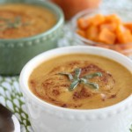 Sweet Potato Apple and Sage Soup