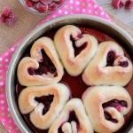 Valentine's Day Raspberry Rolls