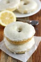 Baked Lemon Poppy Seed Donuts