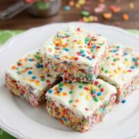 Rainbow Krispie Treats