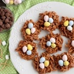 Peanut Butter Chocolate Nests