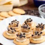 Chocolate Peanut Butter Banana RITZ® Bites