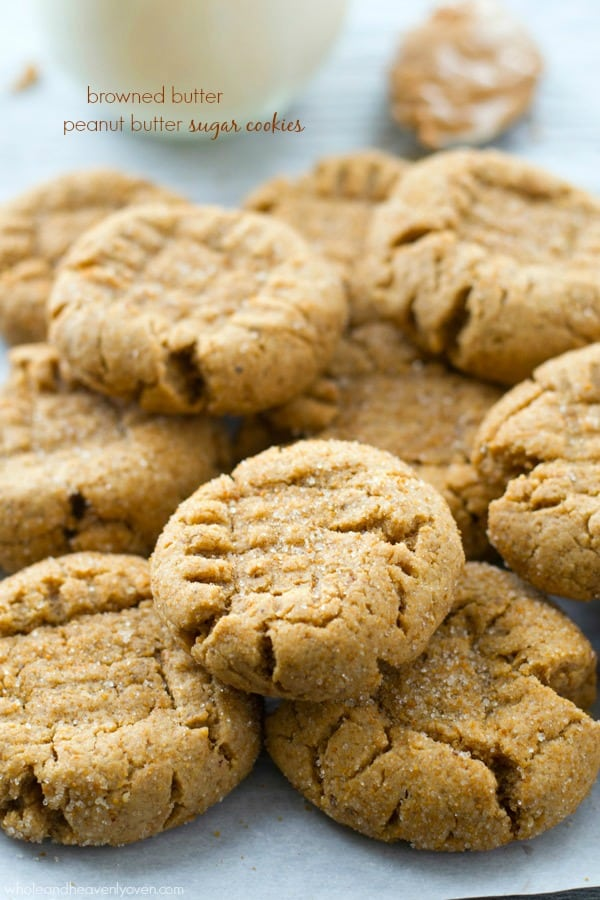 and loaded with a double-delight of browned butter and peanut butter ...