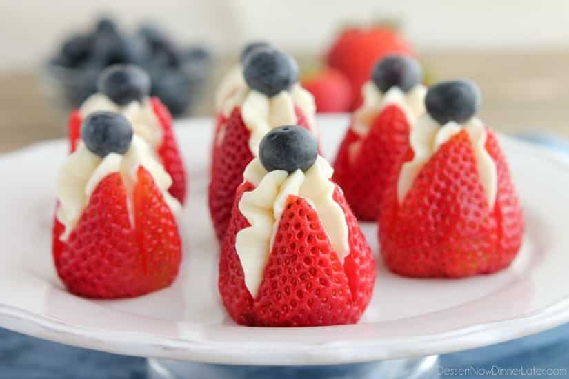 recipe: cheesecake stuffed strawberries pinterest [1]