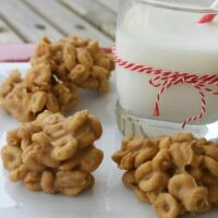 Crunchy Peanut Butter Clusters