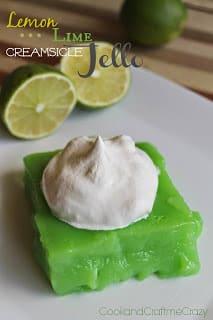 lemon lime creamsicle jello