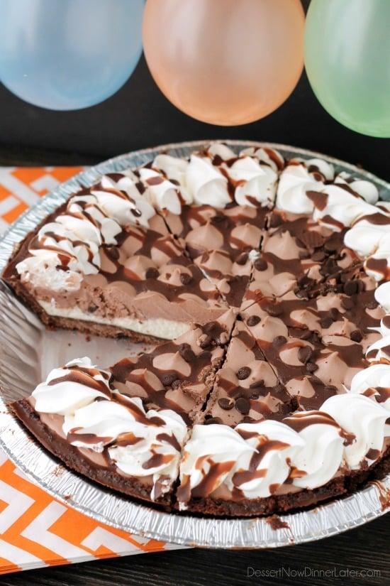 Birthday Pies - Dessert Now, Dinner Later!