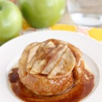 Upside-Down Apple Cinnamon Roll