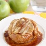 Upside-Down Apple Cinnamon Roll