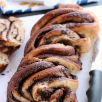 Nutella Twist Bread