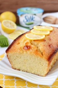 Try this ultra-moist and delicious lemon cake made dairy-free with Silk Dairy-Free Yogurt Alternative.