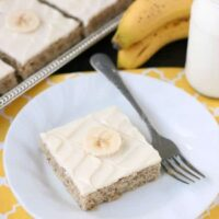 Favorite Banana Cake Recipe