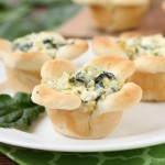 Blooming Spinach Artichoke Cups