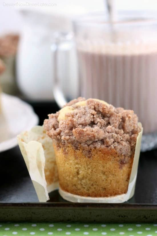 Coffee Cake Muffins (+ More Coffee Cake Recipes) - Dessert ...
