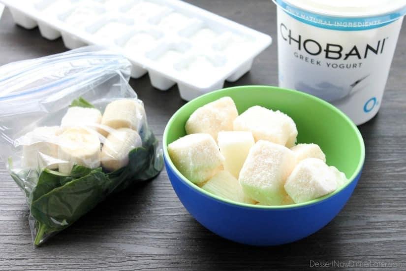 Freezer Smoothie Packs - yogurt