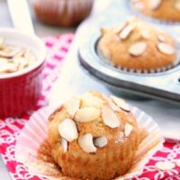 Honey Almond Muffins
