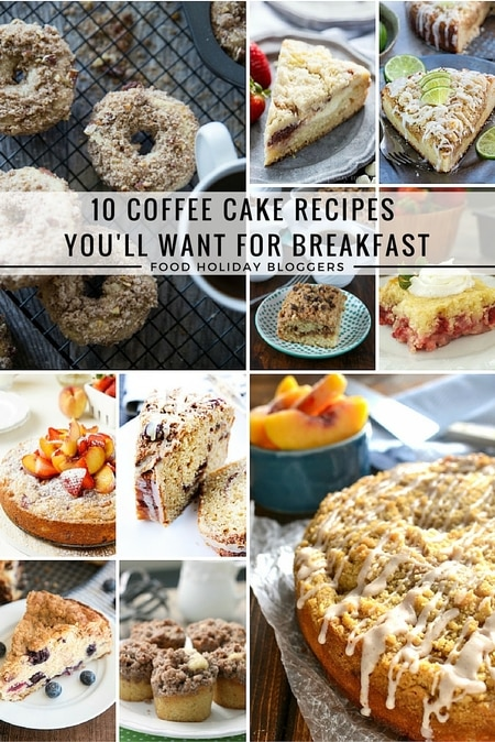 10 Coffee Cake Recipes You'll Want For Breakfast