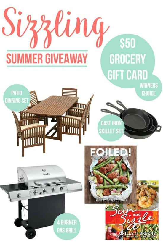 Summer Giveaway June 19th - 26th, 2016
