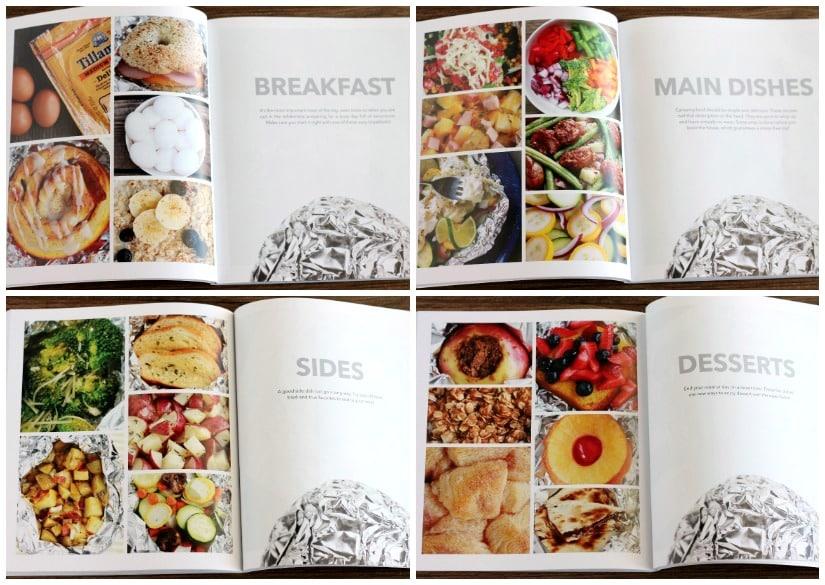 FOILED Cookbook Categories
