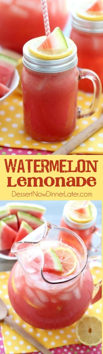 Bad watermelon? Don't throw it out! Make watermelon lemonade with this easy, 3-ingredient recipe!