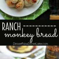 This easy Ranch Monkey Bread is a tasty appetizer that will get eaten just as fast as it is made! Tangy ranch, savory parmesan, and creamy butter season frozen dough into the perfect monkey bread bites.