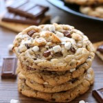 S'mores Cookies (+ more s'mores recipes!)