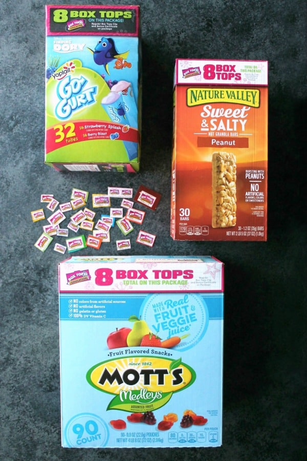 Earn mega (100, 200, 300, or 400) eBoxTops for your child's school by purchasing General Mills products at Sam's Club.