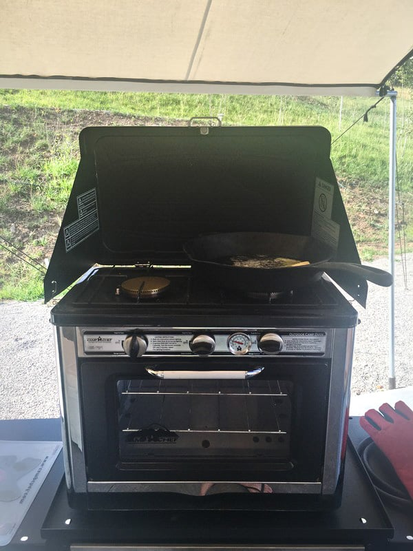 Camp Chef -- Deluxe Outdoor Oven #FeedYourOUTside