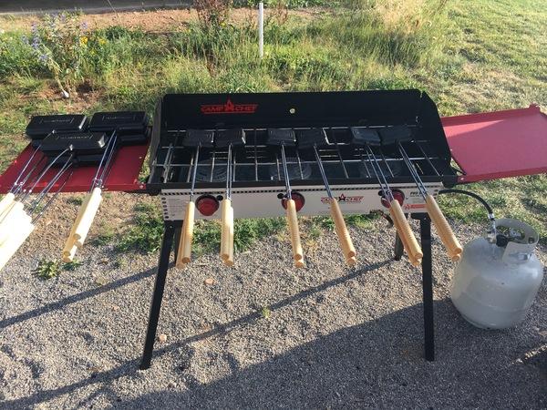 Camp Chef -- Pro90x Deluxe Three-Burner Stove #FeedYourOUTside